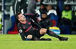 Arsenal's Granit Xhaka hurts his hamstring during the premier league match at Selhurst Park Stadium, London. Picture date 28th December 2017. Picture credit should read: David Klein/Sportimage