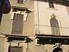 Facade with brown wood slatted shutters<br /> <br /> Fachada con persianas marrones<br /> <br /> Fassade mit braunen Fensterl&auml;den<br /> <br /> 2272 x 1704 px<br /> 150 dpi: 38,47 x 28,85 cm<br /> 300 dpi: 19,24 x 14,43 cm