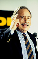 Montreal (Qc) CANADA,,July 1994,  File Photo <br /> <br /> Parti Quebecois  Leader Jacques Parizeau <br /> <br /> Photo by Pierre Roussel / Images Distribution