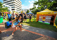 2018 Hamilton Sevens Official welcome at Garden Square in Hamilton, New Zealand on Friday, 2 February 2018. Photo: Dave Lintott / lintottphoto.co.nz