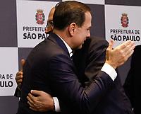 SÃO PAULO, SP, 06.02.2018: MORADIA-PREFEITURA - O governador Geraldo Alckmin (PSDB) e o prefeito João Doria (PSDB), anunciam nesta terça-feira ( 6 ) na sede da prefeitura, região central de São Paulo (SP), parceria para a liberação de recursos para a construção de moradias populares na capital paulista. (Foto: Fábio Vieira/FotoRua)