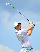 Rory McIlroy (NIR) during the second round of The Northern Trust, Liberty National Golf Club, Jersey City, New Jersey, USA. 09/08/2019.<br /> Picture Michael Cohen / Golffile.ie<br /> <br /> All photo usage must carry mandatory copyright credit (© Golffile | Michael Cohen)