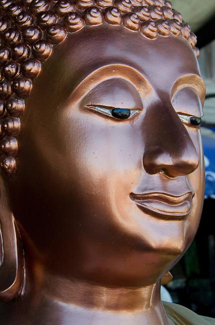 Bronze Sukhothai style Buddha statue