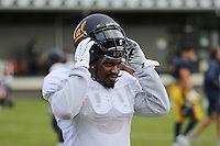 SYDNEY, AUSTRALIA - August 23, 2016:  Cal Bears Football team Australia trip.  Marshawn Lynch visits practice.