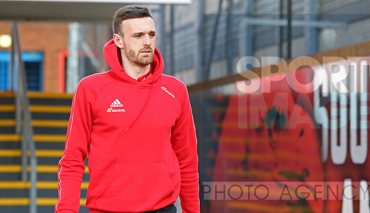 Sheffield United's Jack Robinson arrives ahead of the Premier League match at Selhurst Park, London. Picture date: 1st February 2020. Picture credit should read: Paul Terry/Sportimage