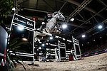 Riders compete during the horse jumping Hong Kong Masters 2014 on February 22, 2014 at Asia World Expo in Hong Kong, China. Photo by Xaume Olleros / Power Sport Images