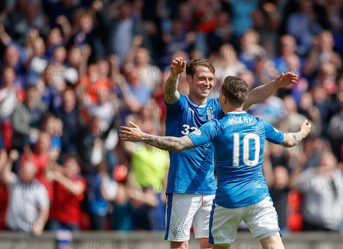Joe Garner and Barrie McKay