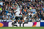Real Madrid's Nacho during La Liga match. April 09, 2016. (ALTERPHOTOS/Borja B.Hojas)