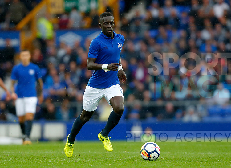 Everton's Idrissa Gueye during the pre season friendly match at Goodison Park Stadium, Liverpool. Picture date 6th August 2017. Picture credit should read: Paul Thomas/Sportimage
