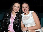 Hillary Keenan and Megan Rogers at the DanzeMania show in Ardee parish centre. Photo: Colin Bell/pressphotos.ie