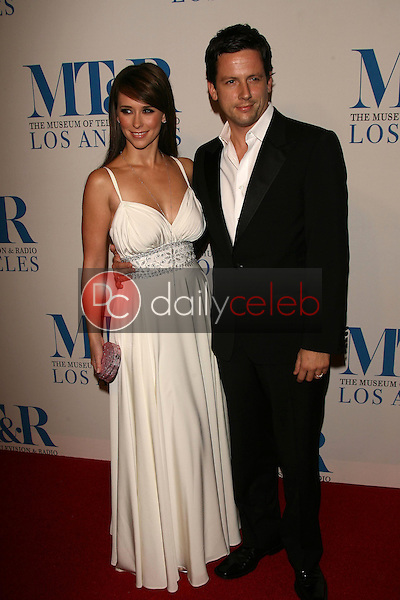 Jennifer Love Hewitt and Ross McCall<br />
