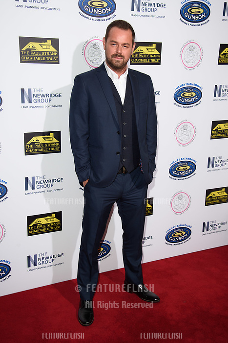 LONDON, UK. September 22, 2018: Danny Dyer at the Paul Strank Charitable Trust Annual Gala at the Bank of England Club, London.<br /> Picture: Steve Vas/Featureflash
