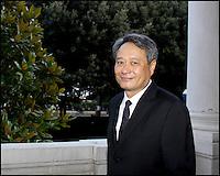 Le prÈsident du jury Ang Lee part de l'HÙtel des Bains pour aller ‡ la cÈrÈmonie d'ouverture de la Mostra - Festival de Venise 2009