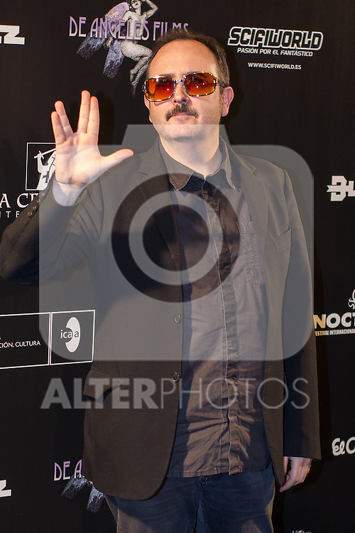 Carlos Areces at Nocturna, the international festival of fantastic cinema of Madrid. May 23,2016. (ALTERPHOTOS/Rodrigo Jimenez)
