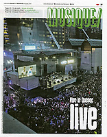 Publication dans LIBERATION (France)<br /> <br /> Photo : Philippe Manh Nguyen - Agence Quebec Presse