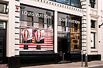 Louis Vuitton 04 - Louis Vuitton shopfront display window, King Street, Perth, Western Australia.