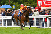 Winner of The Molson Coors Handicap Eye of The Water ridden by David Probert and trained by Ronald Harris  during Evening Racing at Salisbury Racecourse on 11th June 2019