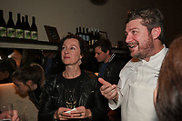Melbourne, 17 June 2019 - Rebecca Harris and Scott Pickett at the launch of Lupo Restaurant in Smith Street, Melbourne, Australia. Photo Sydey Low / Asterisk Images.