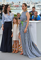 Marion Cotillard, Ayline Aksoy-Etaix &amp; director Vanessa Filho at the photocall for &quot;Angel Face&quot; at the 71st Festival de Cannes, Cannes, France 12 May 2018<br /> Picture: Paul Smith/Featureflash/SilverHub 0208 004 5359 sales@silverhubmedia.com