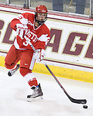 Kasey Boucher (BU - 3) - The visiting Boston University Terriers defeated the Boston College Eagles 1-0 on Sunday, November 21, 2010, at Conte Forum in Chestnut Hill, Massachusetts.