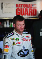 Nov. 7, 2008; Avondale, AZ, USA; NASCAR Sprint Cup Series driver Dale Earnhardt Jr during practice for the Checker Auto Parts 500 at Phoenix International Raceway. Mandatory Credit: Mark J. Rebilas-