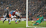 Wesley of Aston Villa misses an easy chance during the Premier League match at Villa Park, Birmingham. Picture date: 25th November 2019. Picture credit should read: Darren Staples/Sportimage