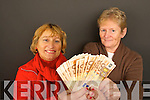 WINNER Bridie Courtney, Cahermoneen, Tralee on left winner of Kerry's Eye EUR1,000  give-away with Anne Pullen of Kerry's Eye.   Copyright Kerry's Eye 2008