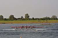 Wallingford Rowing Club Regatta 2011. Dorney..(J18A.4x-).Monmouth Comprehensive School (396).Zimbabwe Rowing Association (398) .Sir William Borlase School (399)