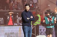 Trainer Sandro Schwarz (1. FSV Mainz 05) - 12.05.2019: Eintracht Frankfurt vs. 1. FSV Mainz 05, 33. Spieltag Bundesliga, Commerzbank Arena, DISCLAIMER: DFL regulations prohibit any use of photographs as image sequences and/or quasi-video.