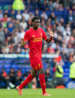 Ovie Ejaria of Liverpool during the 2016/17 Pre Season Friendly match between Tranmere Rovers and Liverpool at Prenton Park, Birkenhead, England on 8 July 2016. Photo by PRiME Media Images.