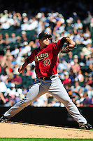 07 September 08: Astros pitcher Jack Cassel delivers a pitch against the Colorado Rockies. The Houston Astros defeated the Colorado Rockies 7-5 at Coors Field in Denver, Colorado. FOR EDITORIAL USE ONLY