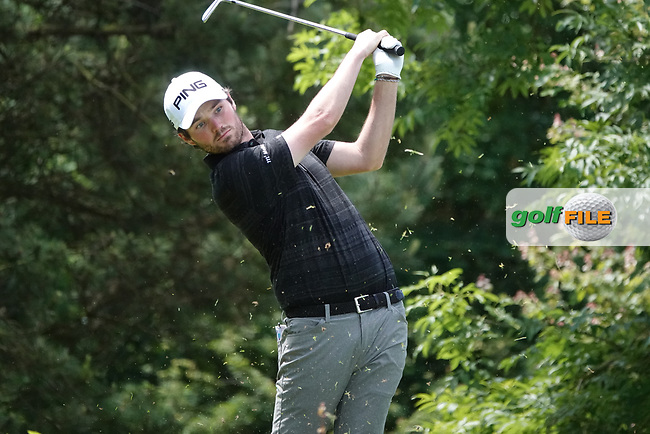 Cormac Sharvin (NIR) in action during the third round of the Hauts de France-Pas de Calais Golf Open, Aa Saint-Omer GC, Saint- Omer, France. 15/06/2019<br /> Picture: Golffile   Phil Inglis<br /> <br /> <br /> All photo usage must carry mandatory copyright credit (© Golffile   Phil Inglis)