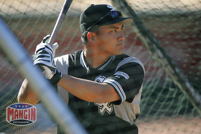 Tadahito Iguchi. Chicago White Sox vs Oakland Athletics. Oakland, CA 7/2/2005 MANDATORY CREDIT: Brad Mangin