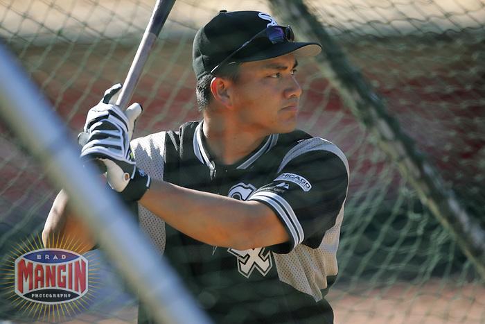 Tadahito Iguchi. Chicago White Sox vs Oakland Athletics. Oakland, CA 7/2/2005 MANDATORY CREDIT: Brad Mangin