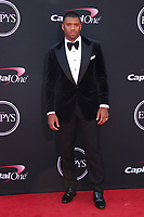 LOS ANGELES, CA - JULY 12: Russell Wilson at The 25th ESPYS at the Microsoft Theatre in Los Angeles, California on July 12, 2017. Credit: Faye Sadou/MediaPunch