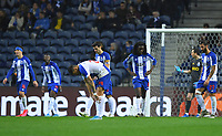 28th January 2020; Dragao Stadium, Porto, Portugal; Portuguese Championship 2019/2020, FC Porto versus Gil Vicente; Players of FC Porto frustrated at the goal scored by Sandro Lima do Gil Vicente in the 45th minute for 0-1