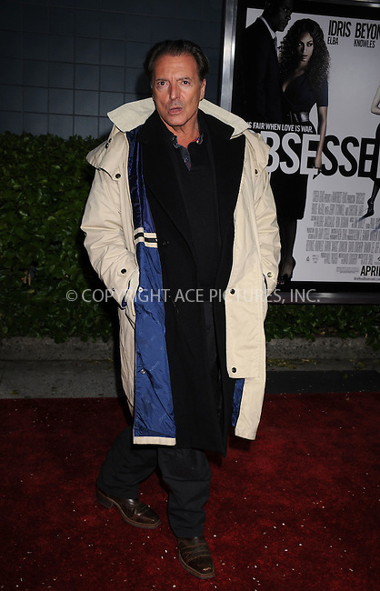 WWW.ACEPIXS.COM . . . . . ....April 23 2009, New York City....Actor Armand Assante arriving at the premiere of 'Obsessed' presented by The Cinema Society & MCM at the School of Visual Arts on April 23, 2009 in New York City.....Please byline: KRISTIN CALLAHAN - ACEPIXS.COM.. . . . . . ..Ace Pictures, Inc:  ..tel: (212) 243 8787 or (646) 769 0430..e-mail: info@acepixs.com..web: http://www.acepixs.com
