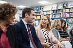 "Teodoro Garcvia Egea, Dolors Monserrat and Ana Pastor in the presentation of the book ""Cada dia tiene su afan"" by former minister Jorge Fernandez Diaz with Mariano Rajoy<br /> October 10, 2019. <br /> (ALTERPHOTOS/David Jar)"