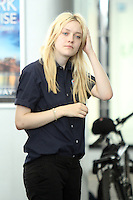 July 31,  2012  Dakota Fanning on location for Very Good Girls at the NY Waterway in New York City. &copy; RW/MediaPunch Inc. /NORTEPHOTO*COM*<br />