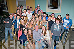 Aisling Bulman, Tralee (seated 2nd left) had a fab time celebrating her 18th birthday at her home in Clogher Lí last Friday night along with many friends and family.