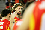 Spain's Pau Gasol during a friendly match between Spain and Argentina at Madrid Arena stadium in Madrid, Sunday August 06 2006. (ALTERPHOTOS/Alvaro Hernandez).