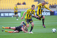 121021 A-League Football - Phoenix v Roar