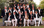 Pix: Shaun Flannery/shaunflanneryphotography.com...COPYRIGHT PICTURE>>SHAUN FLANNERY>01302-570814>>07778315553>>..28th August 1998..............Doncaster Town v Bath..Abbot Ale Cup final at Lords..Doncaster Town cricket club celebrate victory in the Abbot Ale Cup after a thrilling final v Bath.