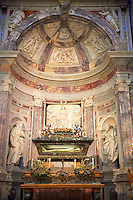 Urn of St Ranieri , The chapel of San Ranieri, Pisa Duomo, Italy
