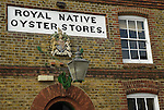 Royal Native Oyster Stores building, Whitstable, Kent