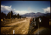 MP 345 with freight of tank cards &amp; box cars.<br /> D&amp;RGW  Chama area, NM