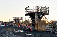 Construction<br />  du REM a Montreal, automne 2019<br /> <br /> <br /> PHOTO : Agence Quebec Presse - Pierre Tran
