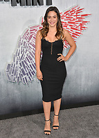 "LOS ANGELES, CA. August 28, 2018: Stephanie Arcila at the world premiere of ""Peppermint"" at the Regal LA Live."