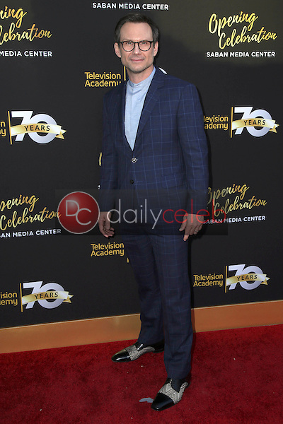 Christian Slater<br /> at the Television Academy's 70th Anniversary Celebration Gala, Television Academy, North Hollywood, CA 06-02-16<br /> David Edwards/Dailyceleb.com 818-249-4998