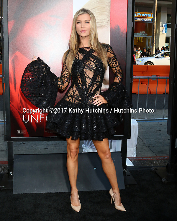 "LOS ANGELES - APR 18:  Joanna Krupa at the ""Unforgettable"" Premiere at TCL Chinese Theater IMAX on April 18, 2017 in Los Angeles, CA"